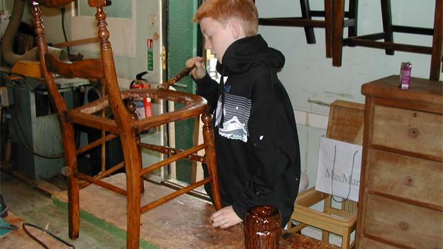 varnishing chair #2